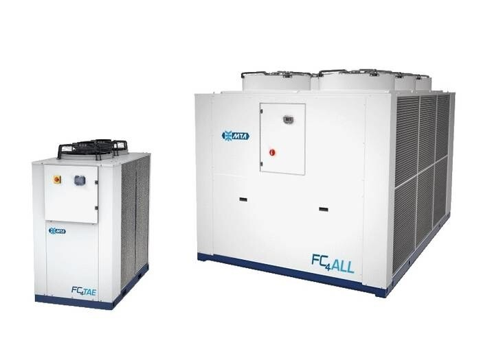 LOGO_Modular liquid coolers for free-cooling systems Cooling capacity 13 - 430 kW.