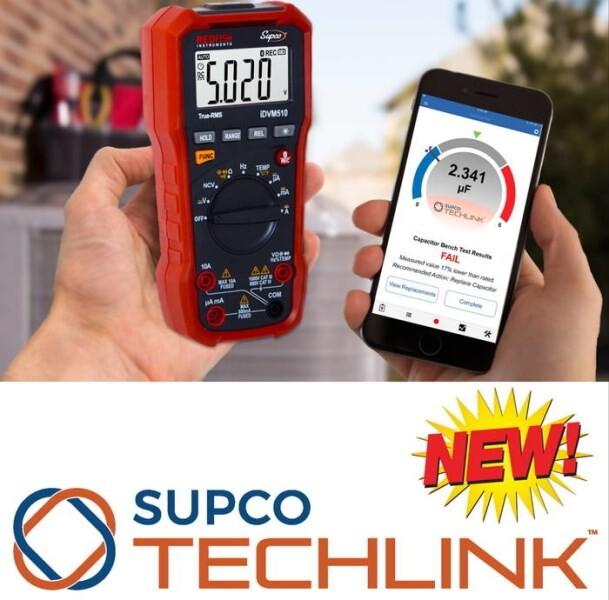 LOGO_iDVM510 - Supco®-Redfish Wireless Series Multi-meter