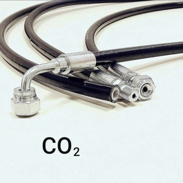 LOGO_Thermoplastic hoses rated to 120 bar suitable for CO₂ applications.