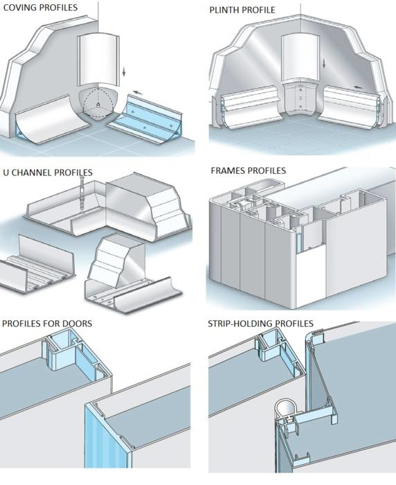 LOGO_Profiles and accessories for refrigeration - cold systems new plast