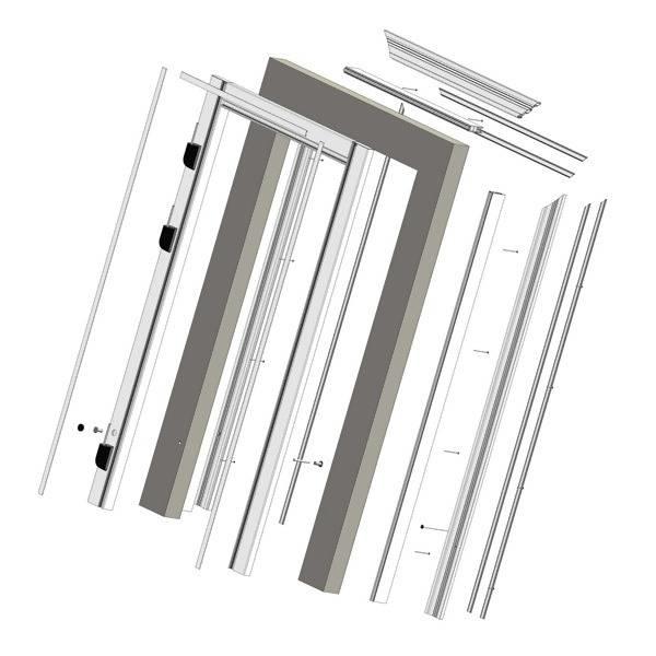 LOGO_Door Frames, Products of Castel Engineering