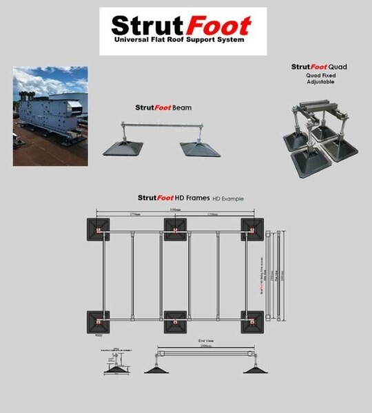 LOGO_StrutFoot Heavy Duty Support