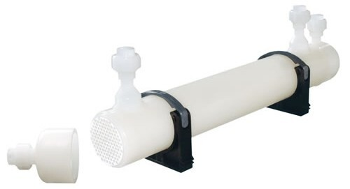 LOGO_Plastic Shell and Tube Heat Exchanger