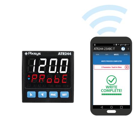 LOGO_PID Controller Dual analogue loop - programmable via NFC