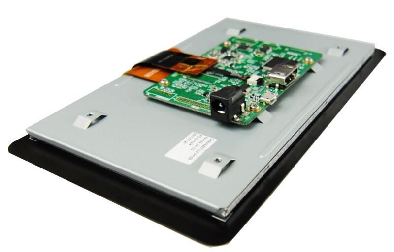 "LOGO_HDMI 7"" TFT with high sensitivity borderless CTP"