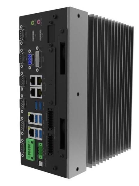 LOGO_kompakter, lüfterloser Industrie-PC (IPC) Eagle Eye für industrielle Bildverarbeitung