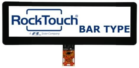 LOGO_Bar Type - Stretched TFT with Touch Screen Projected Capacitive Rocktouch