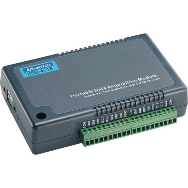 LOGO_USB-4718-AE: 8-Kanal-Thermoelement-Eingangs-USB-Modul