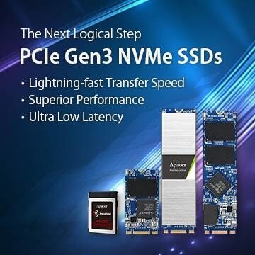 LOGO_PCIe NVMe Gen3 SSDs: The Next Logical Step for Industrial-grade Storage