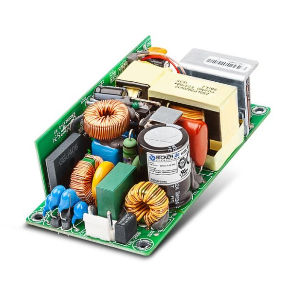 "LOGO_New 2x4"" power supply - compact, fanless and highly efficient"