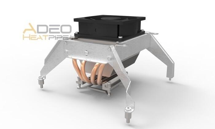LOGO_mITX-motherboard adeo heatpipe cooler - vibration resistant