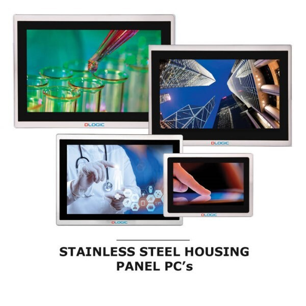LOGO_Stainless Steel Housing Panel PC Range