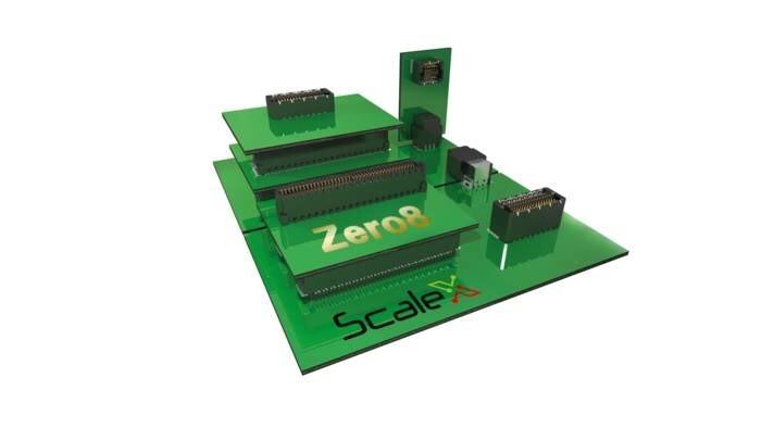 LOGO_Zero8 SMT-Leiterplattensteckverbinder im Raster 0.8 mm