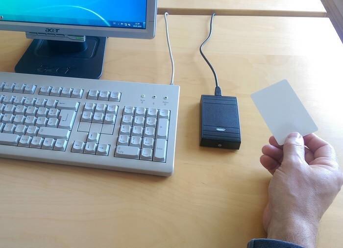 LOGO_AceProx Leser mit PC-Tastaturemulation USB
