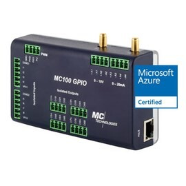 LOGO_4G LTE Programmable, Azure Certified IoT Mobile Gateway MC100 GPIO