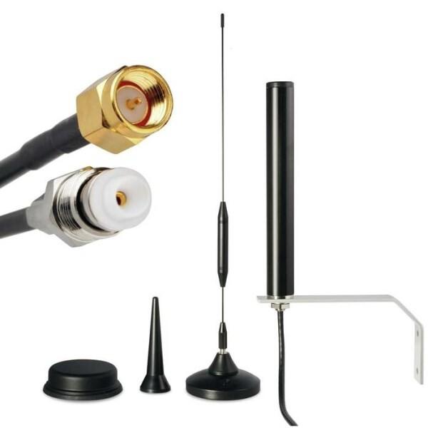 LOGO_Antennen für M2M IoT und Spezialanwendungen, GSM, 2G GPRS EDGE, 3G UMTS HSPA, 4G LTE, GPS, Glonass, ISM oder WLAN