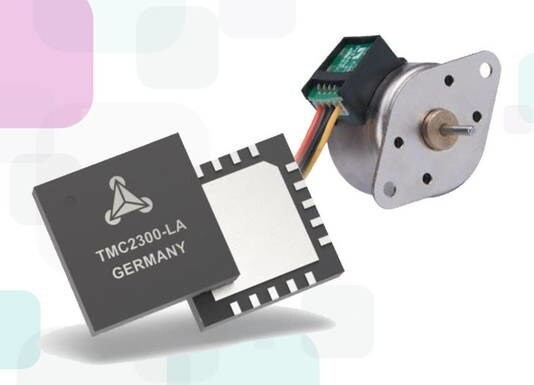 LOGO_TMC2300: the perfect solution for battery-powered stepper motors
