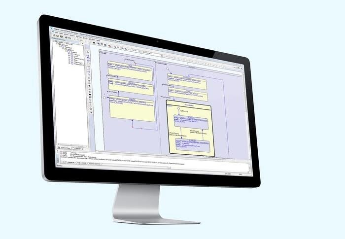 LOGO_Entwicklung von Zustandsautomaten: IAR Visual State