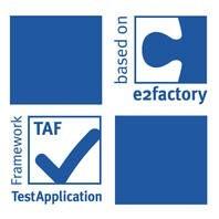 LOGO_e2factory und TAF (Build- und Test-Automatisierung)