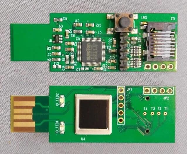 LOGO_UL1701 Fingerprint USB Security Kit