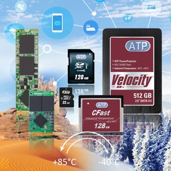 LOGO_ATP Industrial Temperature (ITemp) MLC NAND Flash Solution
