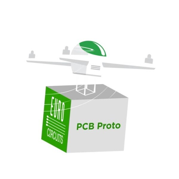 LOGO_PCB Prototypes 3+3 – Manufactured and Assembled