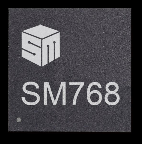 LOGO_SM768 High Performance 4K Graphics Processor
