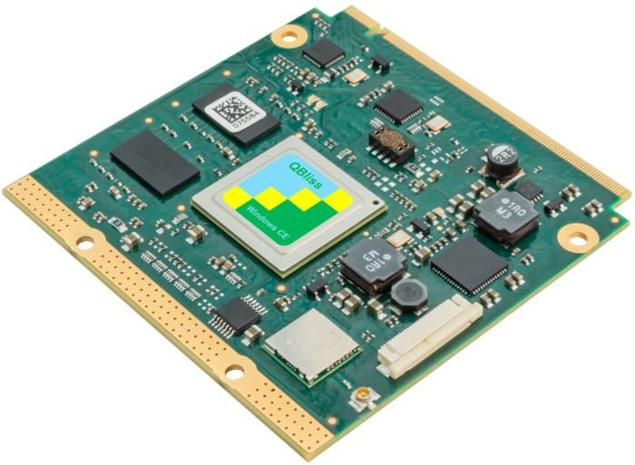 LOGO_efusMX8X - ARM COM Modul mit NXP i.MX 8X Prozessor