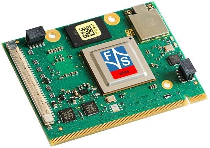 LOGO_efusMX8X - ARM COM module with NXP i.MX 8X processor