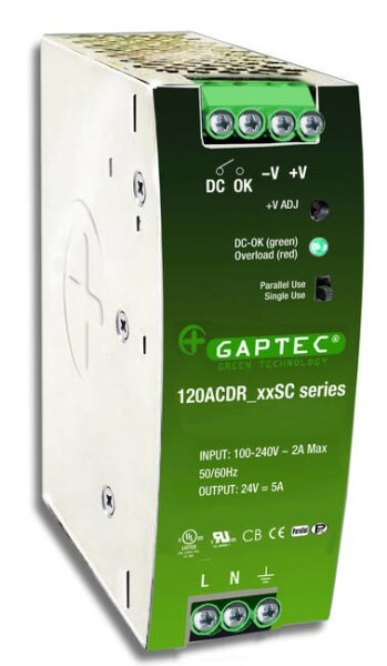 LOGO_GAPTEC ELectronic: 120ACDR (Din-Rail)