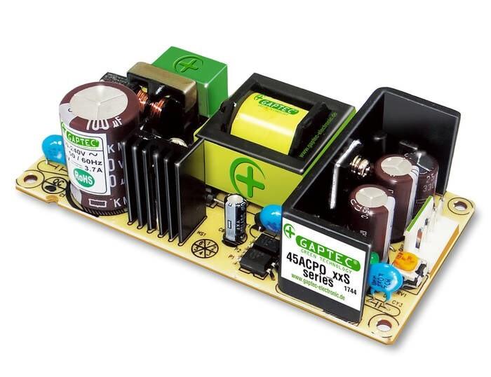 LOGO_GAPTEC Electronic: 45ACPO (Stromversorgung mit offenem Gehäuse)