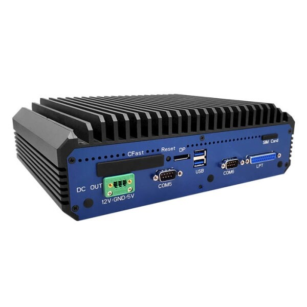 LOGO_SE-8400: Industrial Fanless and High Performance Embedded PC