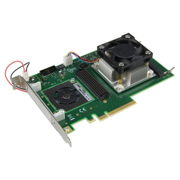 LOGO_TEF1001 Kintex-7 PCIe FMC Carrier with Xilinx Kintex-7 160T, 4 lane PCIe GEN2