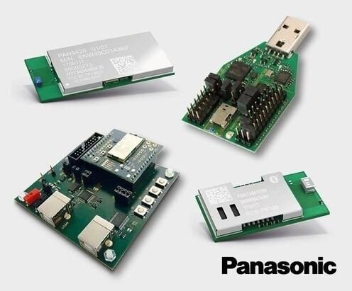 LOGO_Bluetooth und WiFi Module von Panasonic