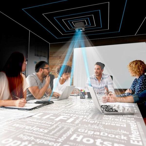 LOGO_Li-Fi technology for setting up wireless company networks