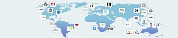 LOGO_TESTING & CERTIFICATION – CE, FCC, UL-STD & Global Market Access