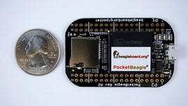 LOGO_PocketBeagle® the $25 development board for hobbyists, educators and professionals based on 1 GHz ARM Cortex-A8 Processor