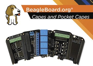 LOGO_BeagleBoard.org® Capes Extend the Functionality of Your BeagleBone® and PocketBeagle®