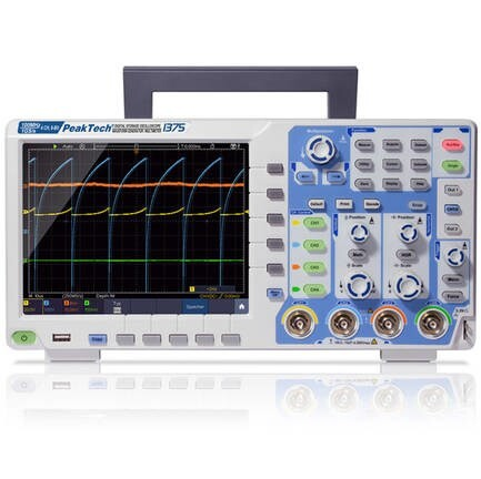 "LOGO_PeakTech 1375 - 4-Channel Touchscreen ""All-In-One"" Oscilloscope - 100 MHz, 1 GS/s, LAN, WiFi, USB, Battery Operation, CAN-Bus Decoder"