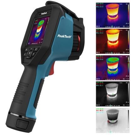 LOGO_PeakTech 5620 - Professionelle Wärmebildkamera 384 x 288 Pixel -20°C bis 550°C mit Foto- und Videofunktion, Analysesoftware, WiFi, Bluetooth, IP 54