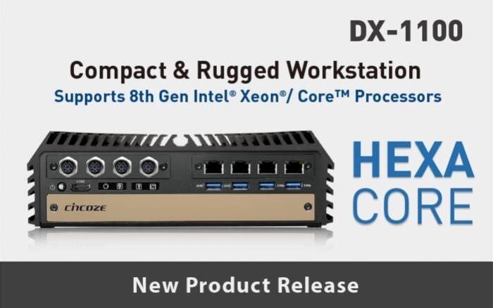 LOGO_8te Generation Intel® Xeon® und Core™ Prozessor, Extreme Performance, kompakte /modulare/robuste Workstation - DX-1100