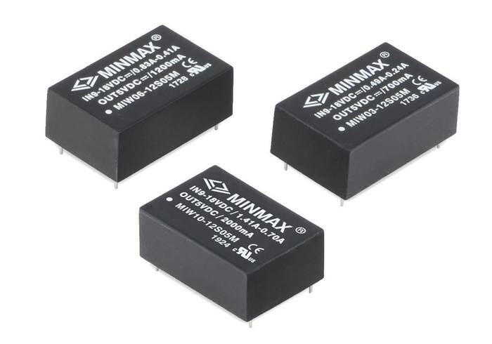 LOGO_Medical Safety IEC/EN 60601-1 Approved.3-10W DC-DC Converters