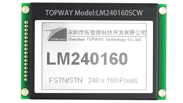 LOGO_TOPWAY Graphic LCD Module