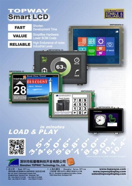 LOGO_TOPWAY Smart LCD TFT Industrial Display Module