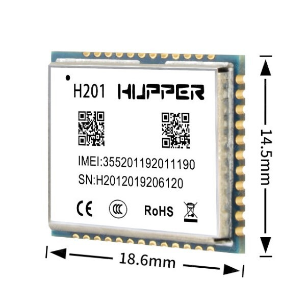 LOGO_GSM / GPRS / GNSS-Modul H201
