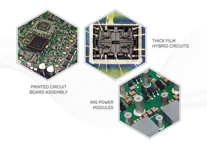 LOGO_Electrical Manufacturing Service: PCB assembly and Thick Film Hybrids Circuits
