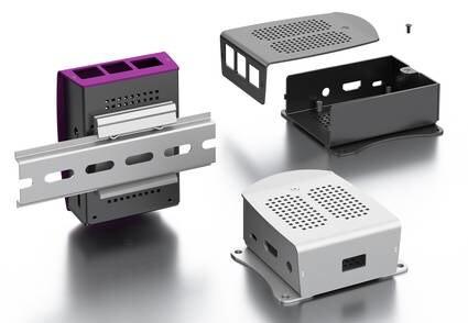 LOGO_Gehäuse für Raspberry Pi 3 Model A+ und Raspberry Pi 4 Model B