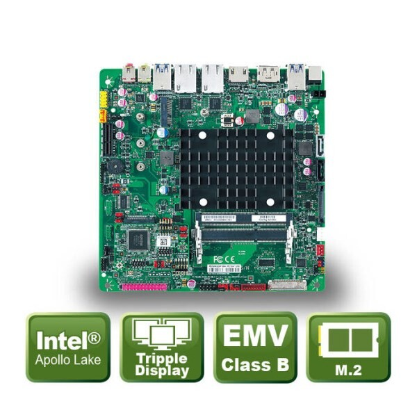 LOGO_PD10AI - Thin-Mini ITX Board mit Apollo Lake BGA Prozessoren