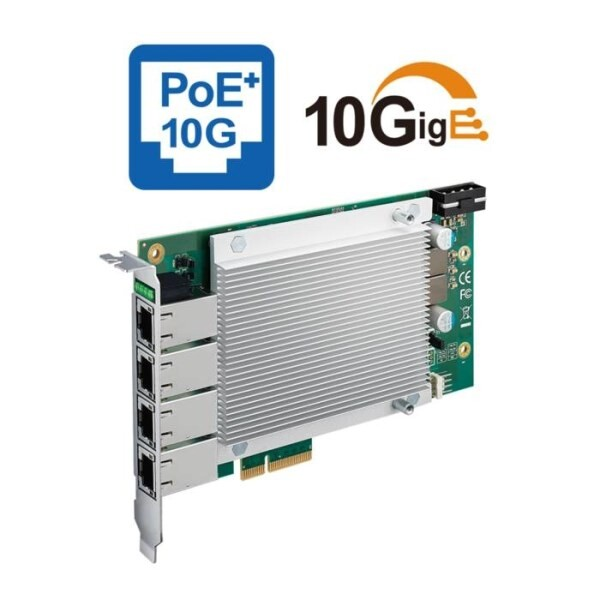 LOGO_4-port/2-port 10GigE PoE+ PCI Express Expansion Card