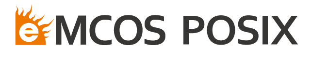 LOGO_eMCOS POSIX: POSIX-compliant scalable RTOS